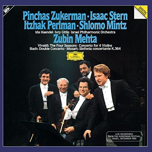 Vivaldi Zukerman Stern M Four Seasons Mozart 2 Lp