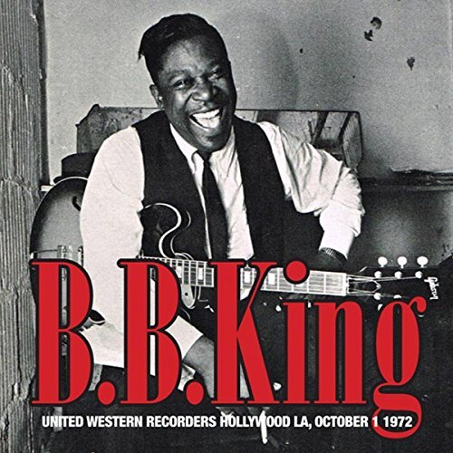 B.B. King United Western Recorders Hollywood La 10 1 72