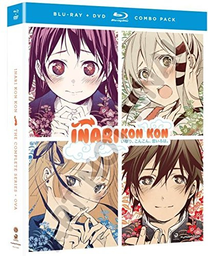 Inari Kon Kon The Complete Series Blu Ray DVD Nr