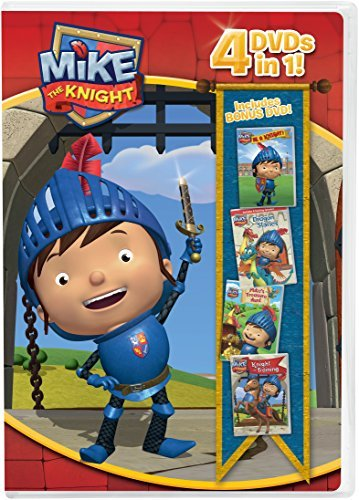 Mike The Knight 4 Pack DVD