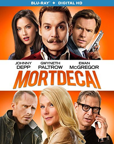 Mortdecai Depp Paltrow Mcgregor Blu Ray Dc R