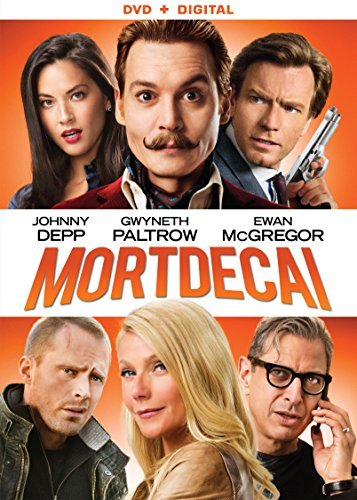 Mortdecai Depp Paltrow Mcgregor DVD Dc R