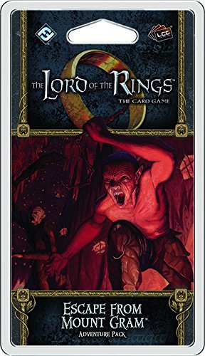 Fantasy Flight Games Lord Of The Rings Lcg Escape From Mount Gram Adventure Pack