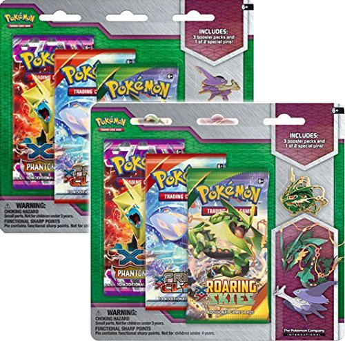 Pokemon Cards Mega Evolution Collector's Pin 3 Pak