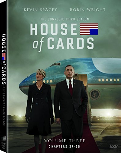 House Of Cards Season 3 DVD