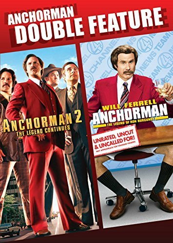 Anchorman Anchorman 2 Double Feature DVD
