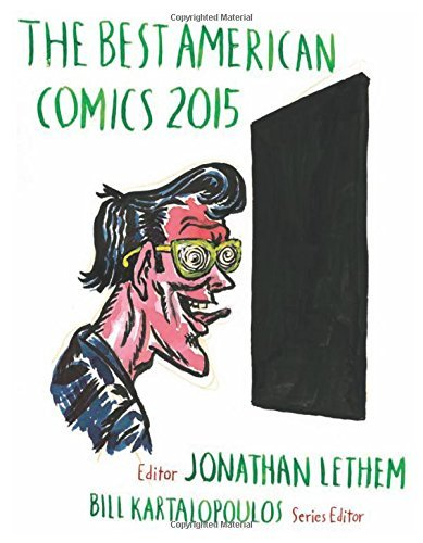 Jonathan Lethem The Best American Comics 2015