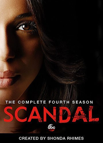 Scandal Season 4 DVD