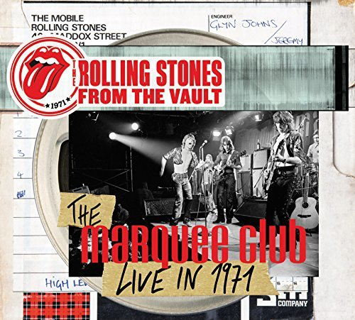 Rolling Stones From The Vault The Marquee Cllub Live In 1971 DVD CD Combo