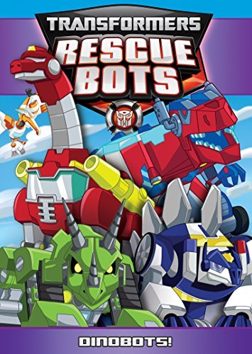 Transformers Rescue Bots Dinobots! DVD