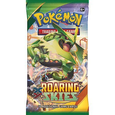 Pokemon Cards Xy6 Roaring Skies Booster Pack
