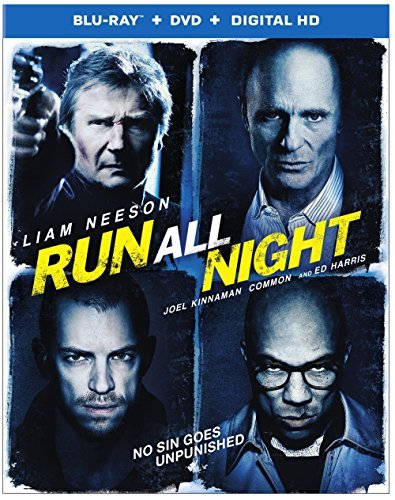 Run All Night Neeson Harris Kinnaman Blu Ray DVD Dc R
