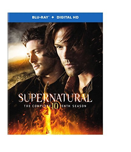 Supernatura Season 10 Blu Ray