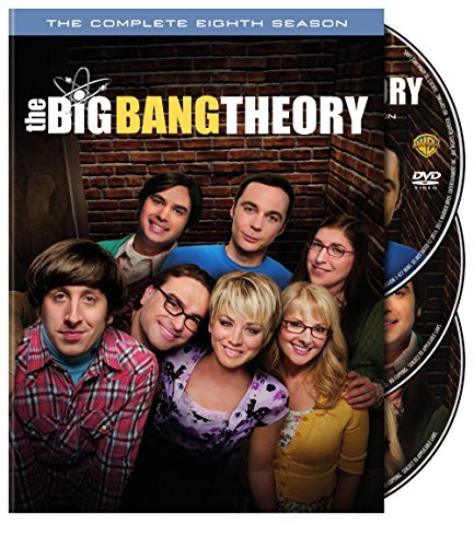 Big Bang Theory Season 8 DVD