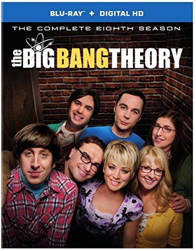 Big Bang Theory Season 8 Blu Ray