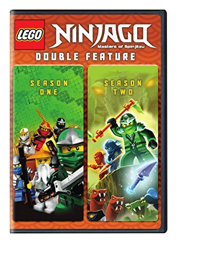 Lego Ninjago Seasons 1 & 2 DVD
