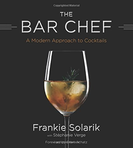 Frankie Solarik Bar Chef