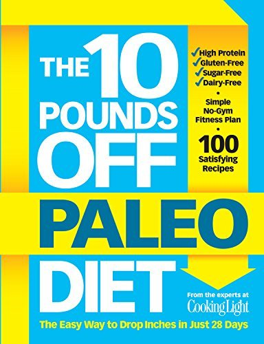 The Editors Of Cooking Light Magazine The 10 Pounds Off Paleo Diet The Easy Way To Drop Inches In Just 28 Days