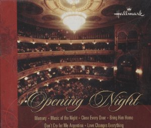 Hallmark Opening Night Broadway Songs