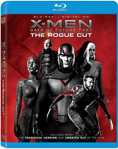 X Men Days Of Future Past Stewart Jackman Mckellen Blu Ray Rogue Cut Nr
