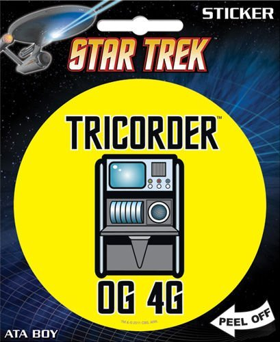 Sticker Star Trek Tricorder Og 4g