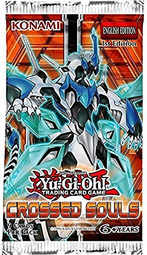 Yu Gi Oh! Yugioh Crossed Souls 1st Edition Booster Pack (9 C 24 Per Box