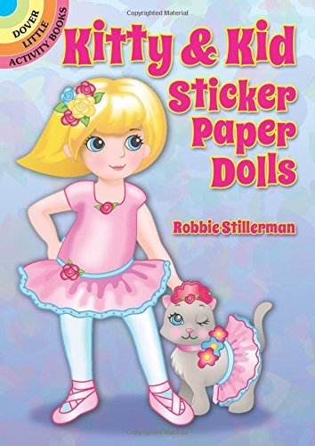 Robbie Stillerman Kitty & Kid Sticker Paper Dolls