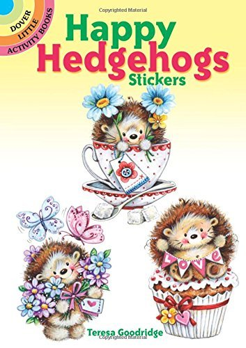 Teresa Goodridge Happy Hedgehogs Stickers