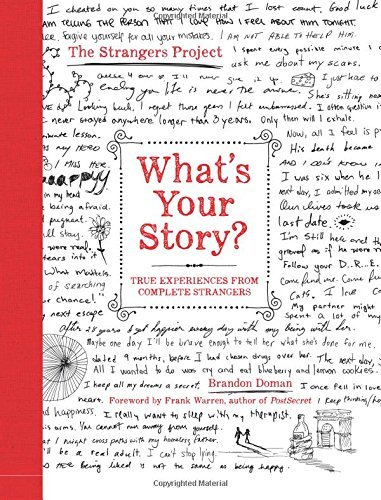 Brandon Doman What's Your Story? True Experiences From Complete Strangers