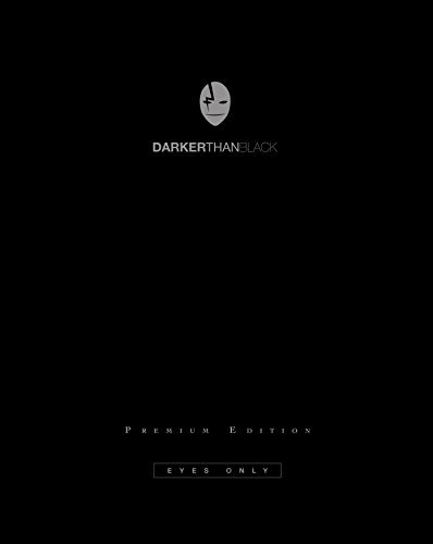Darker Than Black Season 1 Blu Ray Premium Edition