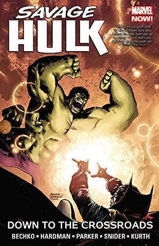 Marvel Comics Savage Hulk Volume 2 Down To The Crossroads