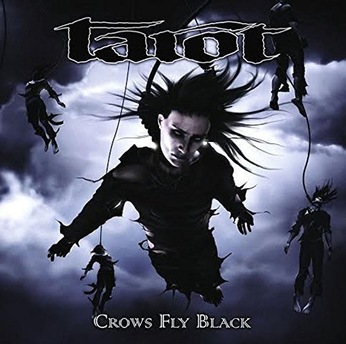 Tarot Crows Fly Black