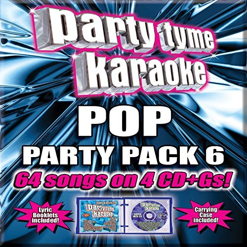 Party Tyme Karaoke Party Tyme Karaoke Pop Party Pop Party Pack 6