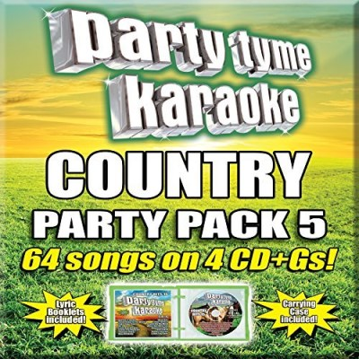 Party Tyme Karaoke Party Tyme Karaoke Country Pa Country Party Pack 5