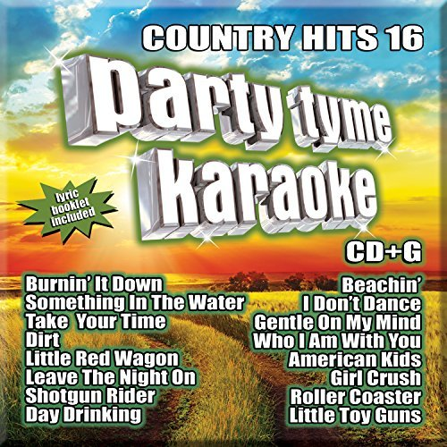 Party Tyme Karaoke Country Hits 16