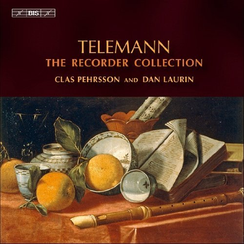 G.P. Telemann Recorder Collection 6 CD