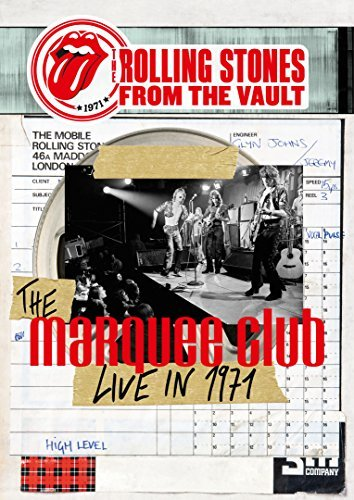 Rolling Stones From The Vault The Marquee Club Live In 1971 Lp DVD Combo From The Vault The Marquee Cl