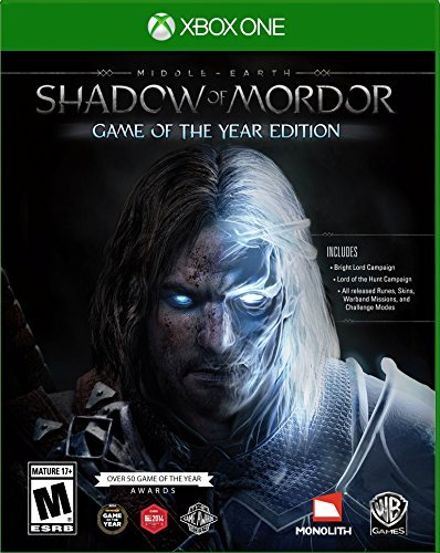 Xbox One Middle Earth Shadow Of Mordor Game Of The Year Edition