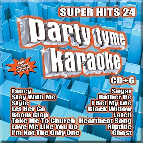 Party Tyme Karaoke Super Hits 24
