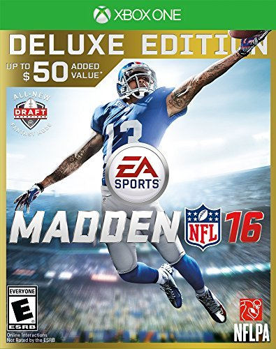 Xbox One Madden Nfl 16 Deluxe Edition Madden Nfl 16 Deluxe Edition