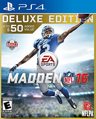 Ps4 Madden Nfl 16 Deluxe Edition Madden Nfl 16 Deluxe Edition