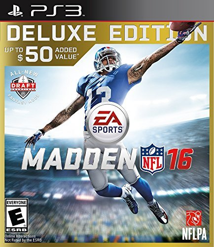 Ps3 Madden Nfl 16 Deluxe Edition Madden Nfl 16 Deluxe Edition