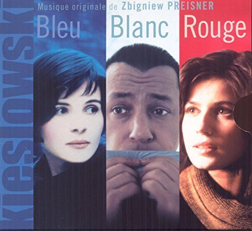 Three Colors Blue White Red Soundtrack Preisner 3cd