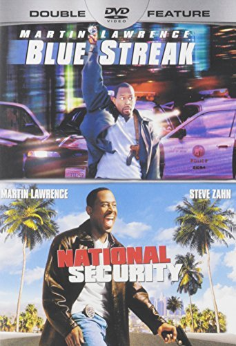 Blue Streak National Security Double Feature DVD
