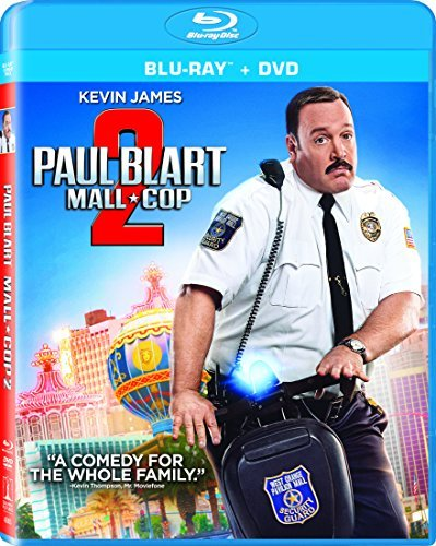 Paul Blart Mall Cop 2 James Rodriguez Blu Ray DVD Dc Pg