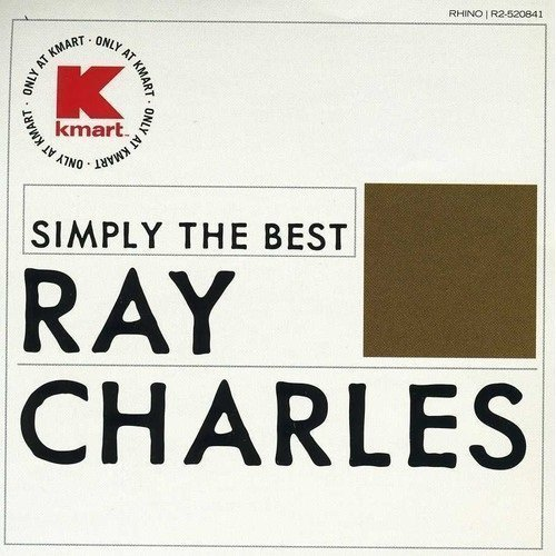 Ray Charles Simply The Best (kmart) 0375 Rhi