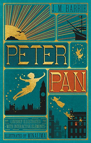 James Matthew Barrie Peter Pan (illustrated With Interactive Elements)