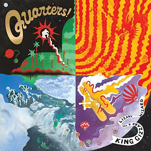 King Gizzard & The Lizard Wiza Quarters Import Gbr