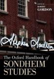 Robert Gordon The Oxford Handbook Of Sondheim Studies