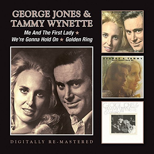 George & Tammy Wynette Jones Me & The First Lady We're Gonn Import Gbr 2 CD